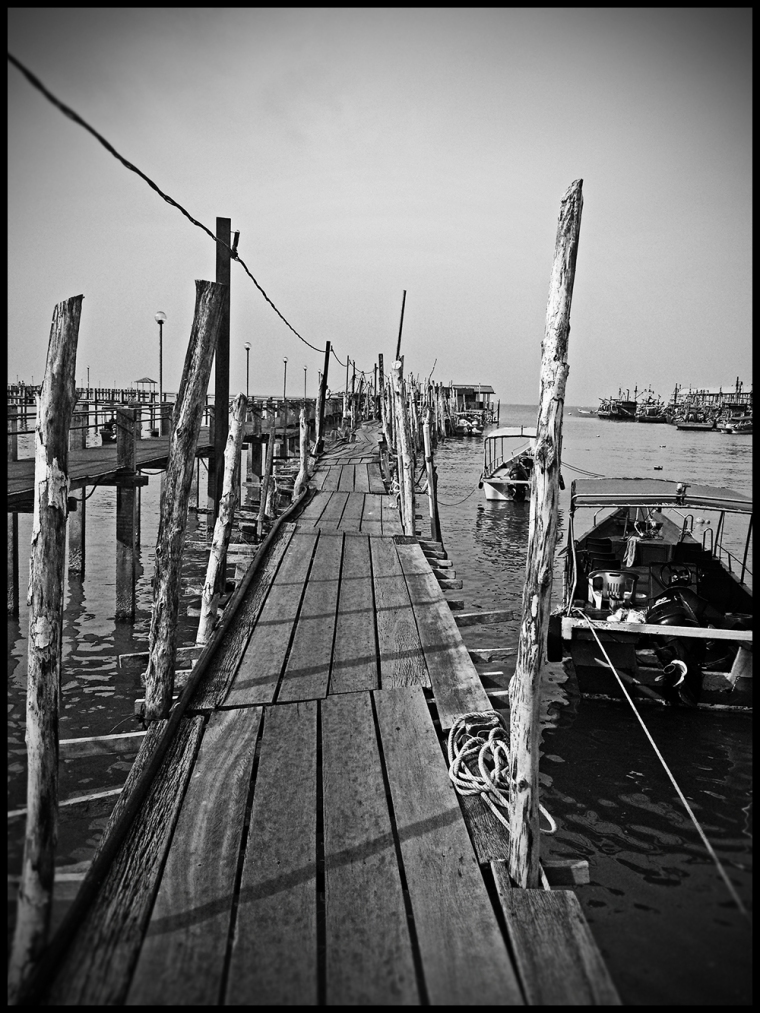 Fishing Boat Pier