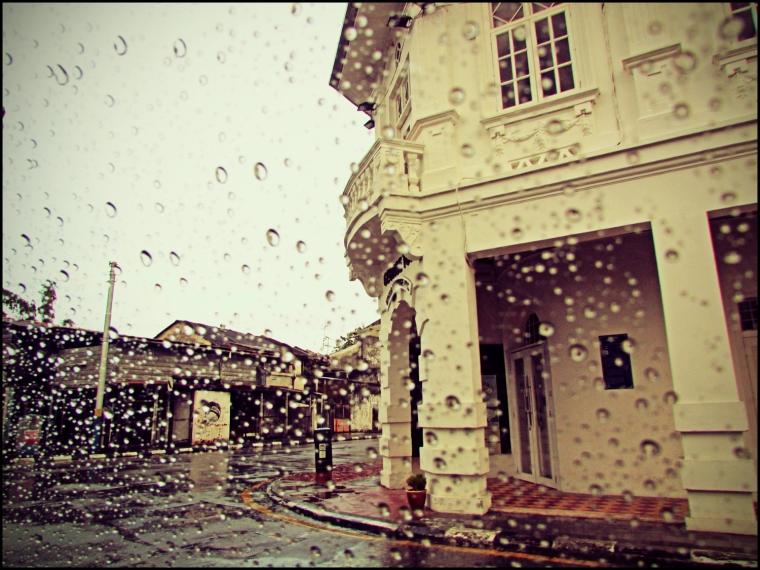 Armenian Street: A Rainy Day