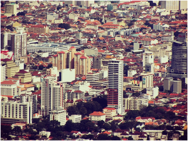 George Town Cityscape