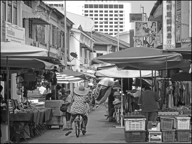 Monochrome George Town Streets